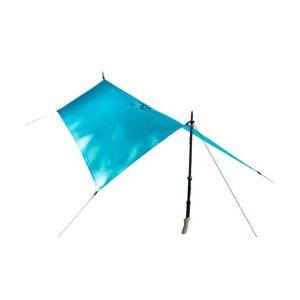 Pláštěnka a přístřešek v jednom balíčku Sea To Summit Ultra-Sil15D Nano Tarp Poncho - modré barvy
