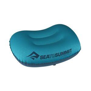 Ultralehký polštářek Sea To Summit Ultralight Aeros Pillow v modré barvě
