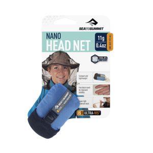 Lehká a skladná moskytiéra na hlavu proti hmyzu Sea To Summit Nano Mosquito Headnet