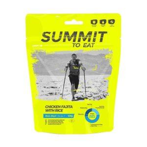Dehydrované jídlo Summit To Eat kuře Fajita s rýží - pikantní a vydatné jídlo, které zpestří váš jídelníček.