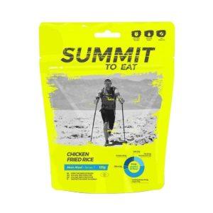 Dehydrované jídlo Summit To Eat smažená rýže s kuřecím masem -vydatné chutné jídlo, které zpestří váš jídelníček