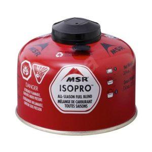 MSR IsoPro Plynová kartuše 110g - vhodná i do nižších teplot.