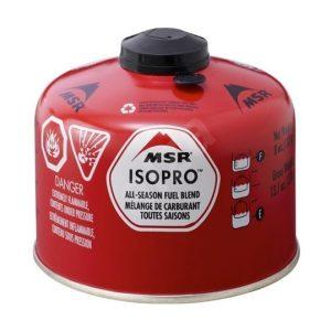 MSR IsoPro Plynová kartuše 227 g - vhodná i do nižších teplot