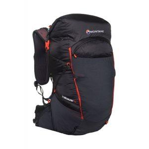 Batoh Montane Trailblazer 44 v černé barvě