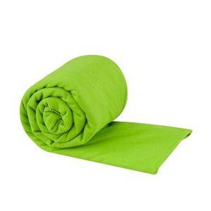 Lehký a skladný ručník Sea To Summit Pocket Towel - zelený