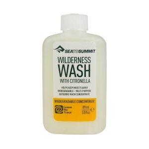 Univerzální čistící prostředek Sea To Summit Wilderness Wash Citronella 89ml vhodný na mytí těla, nádobí a praní