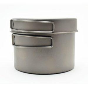 TOAKS Ultralehký titanový hrnec 1300 ml s pánvičkou