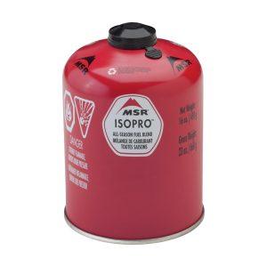 MSR IsoPro Plynová kartuše 450 - vhodná i do nižších teplot