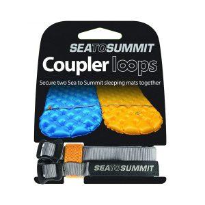 Pružné popruhy Sea To Summit Mat Coupler Kit Loops pro spojení karimatek