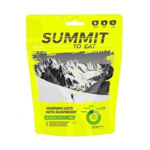Dehydrované jídlo Summit To Eat ovesná kaše s malinami - ideální na snídani