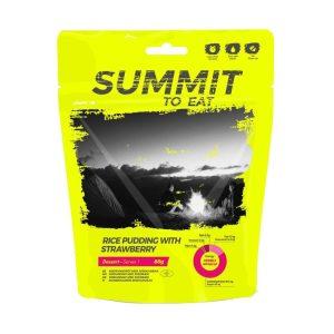 Dezert Summit To Eat rýžový nákyp se smetanou a jahodami