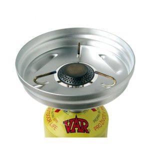 Kvalitní závětří VAR k plynovému vařiči VAR 2 - chrání plamen před poryvy větru