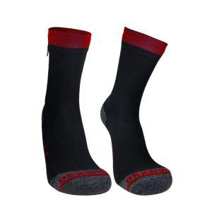Nadkotníkové nepromokavé ponožky DexShell Running Lite Sock - ideální na turistiku, běh a cyklistiku