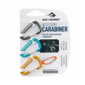 Set karabin Sea To Summit Accessory Carabiner Set 3pcs